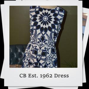 🎉PRICE DROP 🎉CB Est. 1962 Pattern Dress
